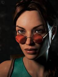 Lara Portrait by FredelsStuff