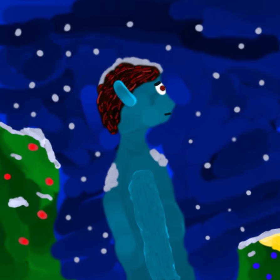 Aqua Elf, Long Winter Night by SlyFlySpyGuy