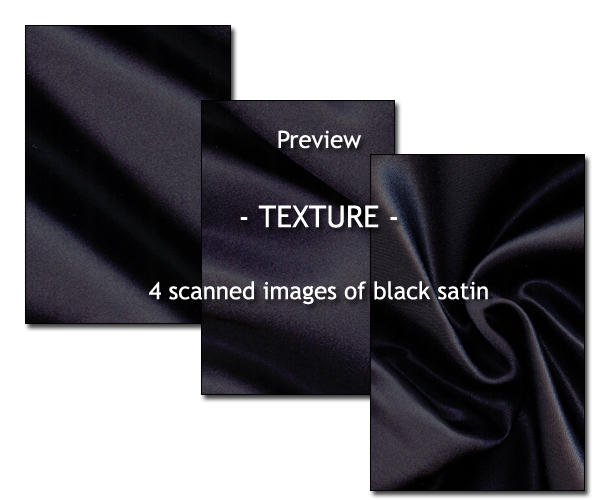 - TEXTURE - black satin by Von-Chan