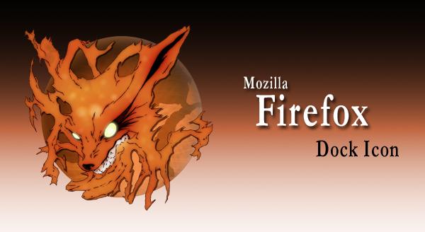 Mozilla Firefox Dock Icon by seiryu22
