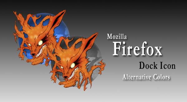 Mozilla Firefox Dock Icon Alt. by seiryu22