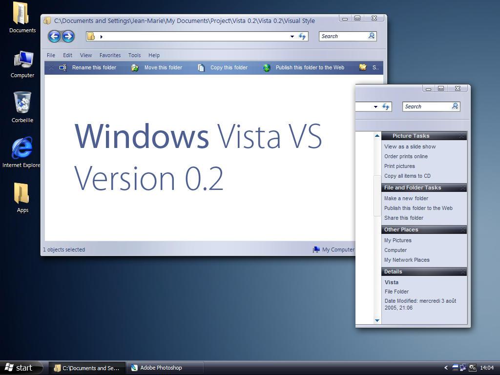 Vista 0.2 by jemaho