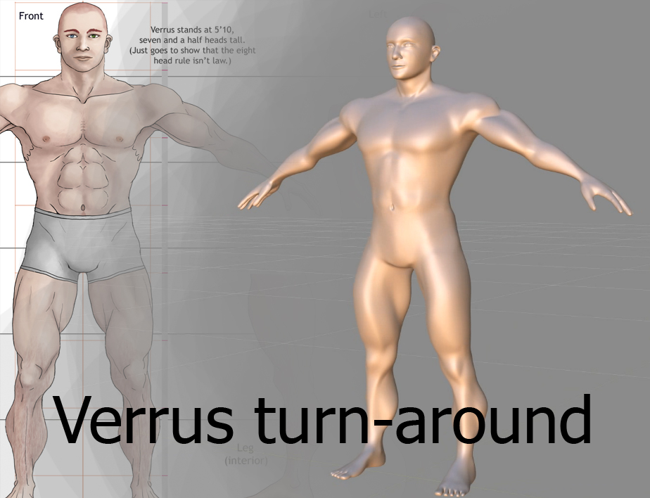Verrus Model Turn Around