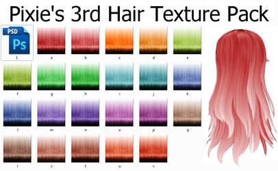 Hair Texture Pack 3