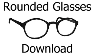 Rounded Glasses Download