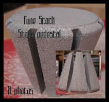 fune-stock_stone_pedestal by Fune-Stock