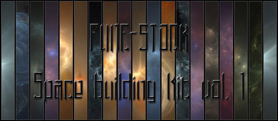 Space building kit vol. I by Fune-Stock