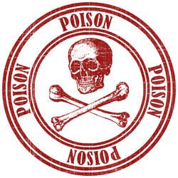Poison Stamp by maskimxul