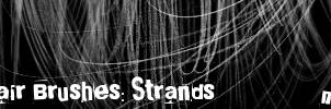 Hair Brushes: Strands by maskimxul