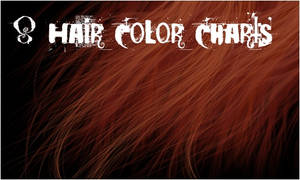 8 Hair Color Charts