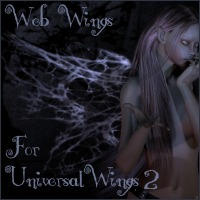 Web Wings for Universal Wings2 by maskimxul