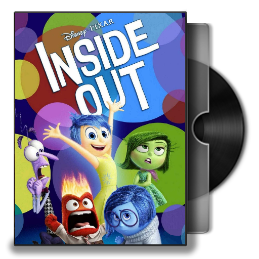 Inside Out 2015 Folder Icon By Maxi94 Cba On Deviantart
