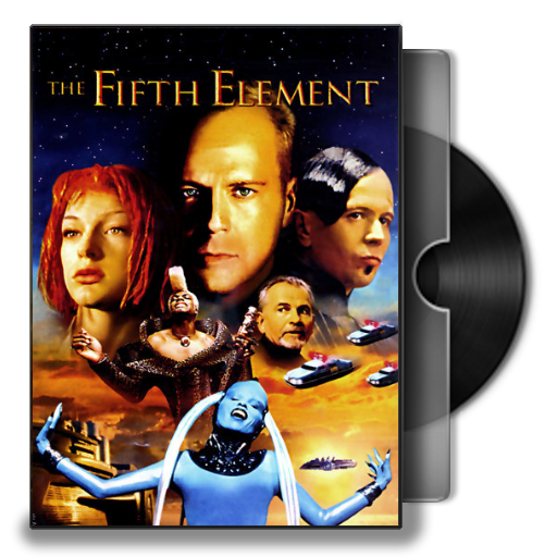 The Fifth Element 1997 Folder Icon By Maxi94 Cba On Deviantart