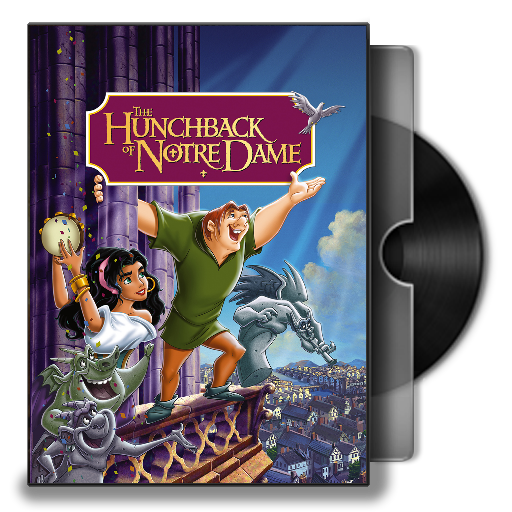 The Hunchback Of Notre Dame 1996 Folder Icon By Maxi94 Cba On Deviantart