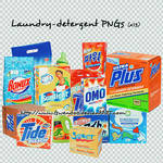 Laundry-detergent PNGs 'x13'