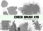 Check photoshop brush x15