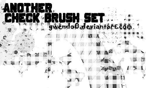 Check Brush Set 2 by gwendo0