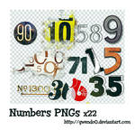 Numbers PNG x22