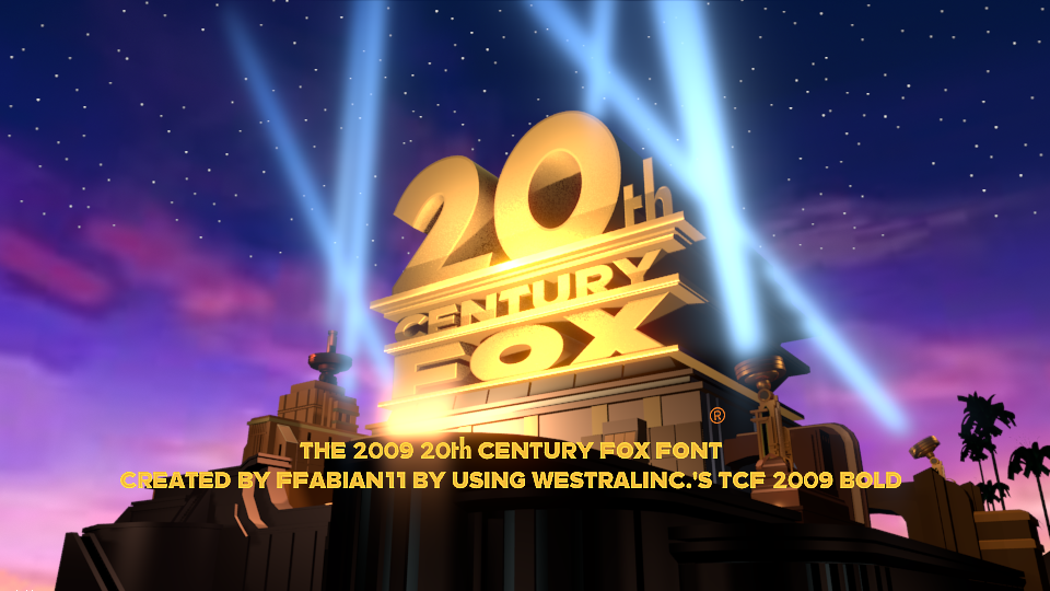 20th Century Fox 2009 Font by Ffabian11 on DeviantArt