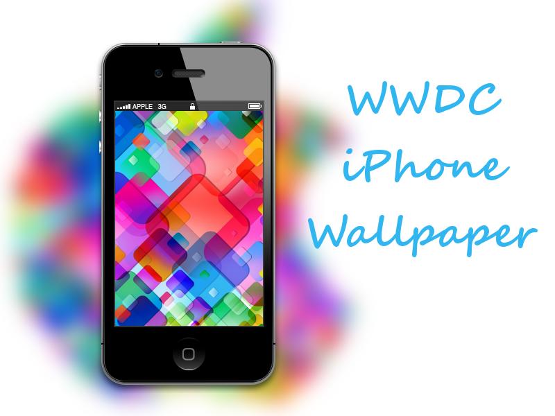 Apple WWDC iPhone Wallpaper by biggzyn80