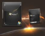 Windows 7 Cover PSD