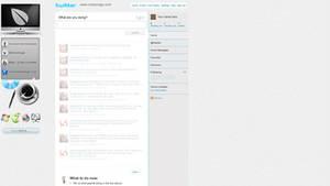metamags Twitter PSD Template