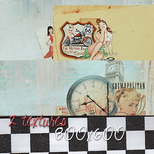 Vintage Textures by ple0-nasme