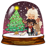 SNOWGLOBE(Christmas Tree)_Milliemunchers 2/3