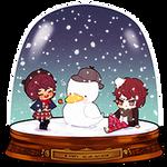 SNOWGLOBE(Snowman)_Potouto 1/2