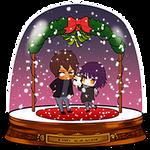 SNOWGLOBE(Mistletoe)_Potouto 2/2