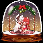 SNOWGLOBE(Mistletoe)_Oimayo