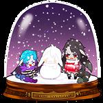 SNOWGLOBE(Snowman)_Boyfriend-kun 1/2