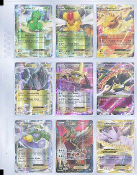 9 Pocket Trading Card Sheet - HD