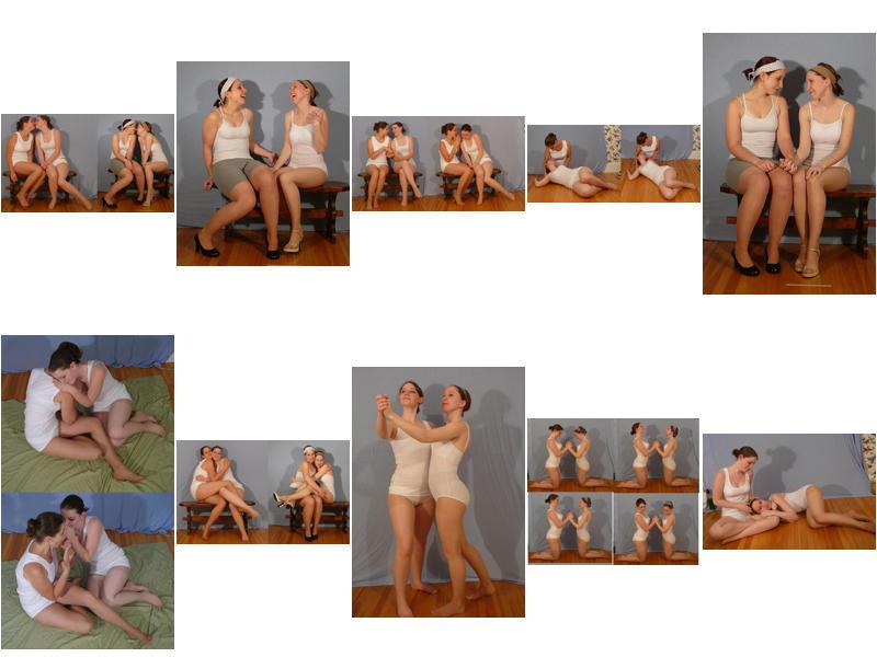 Female+Female Couple - PACK 1 by SenshiStock