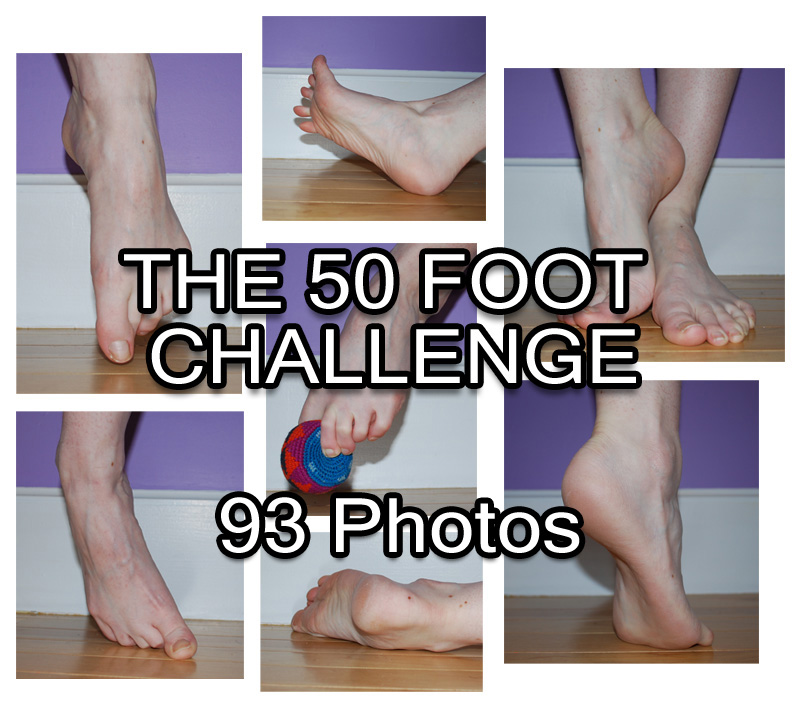 50 Foot Challenge Pack - 93 Foot References by SenshiStock