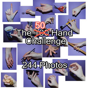 50 Hand Challenge Pack - 244 Hand References