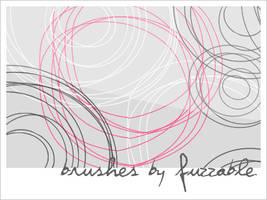 Brushes - Swirls by msLana