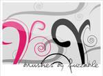 Brushes - Swirls-vector