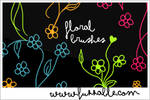 Brushes - Floral