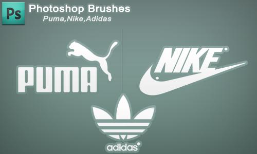 sale retailer 701ca 49e79 Photoshop Brush set - Adidas,nike,puma by h3tr1k ...