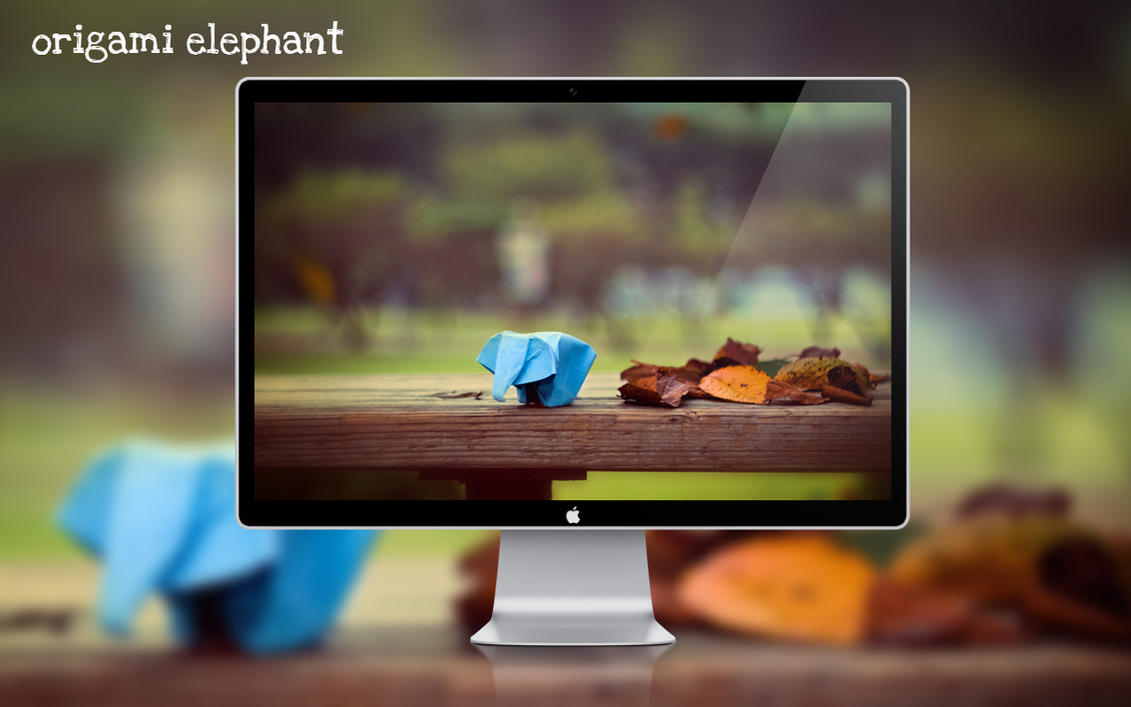 origami elephant by MeXuT