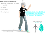 MMD Casual Piko DL