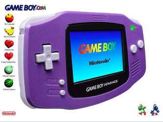 Gameboy Advance by xylonuk