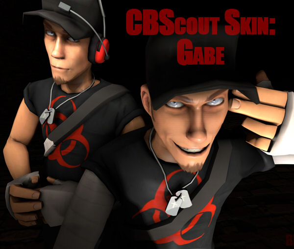 CBScout Skin Gabe by BlastedKing
