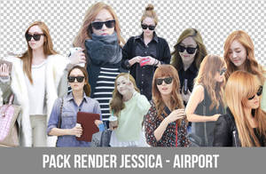 Pack Render Jessica - Airport by LinhYul