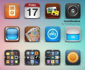 New Icon Shadow NO reflection