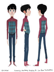 Animation Anatomy Studies