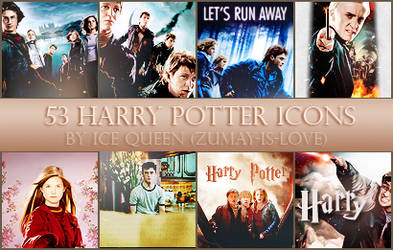 53 Harry Potter Icons by Zumay-Is-Love