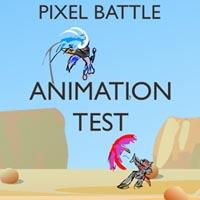 PixelBattle - Animation Test by Kraden