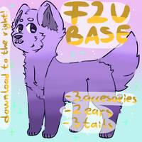 F2U DOGGO BASE -- tysm for 90 watchers!! by muttpilot